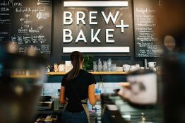 Brew + Bake expands in the Market Hall