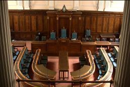 The Council chamber in Preston